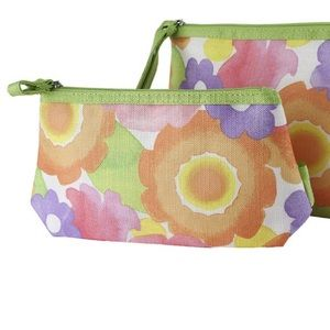 Clinique Floral Watercolor Cosmetic Bag